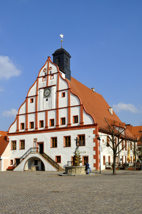 Rathaus Grimma - Landkreis Leipzig - Sanierungsgebiet und Ausgleichsbetrag